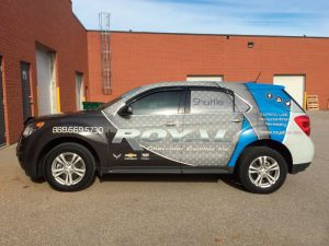 Full Vehicle Wrap For Royal Chev In Orangeville