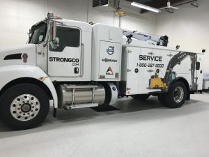 Truck Graphic Wrap For Strongco